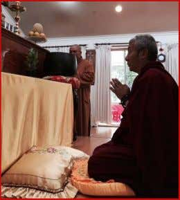 ACT His Eminence was invited to various Buddhist Temples His Eminence had a wonderful visit to