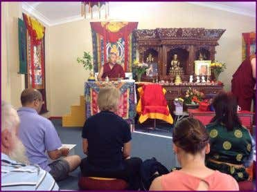 Yigah Choeling Buddhist Centre in Whyalla, South Australia Pictured above after a wonderful programme at Kyegu