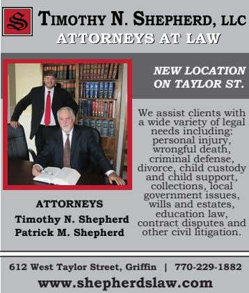 NEW LOCATION ON TAYLOR ST. We assist clients with a wide variety of legal needs