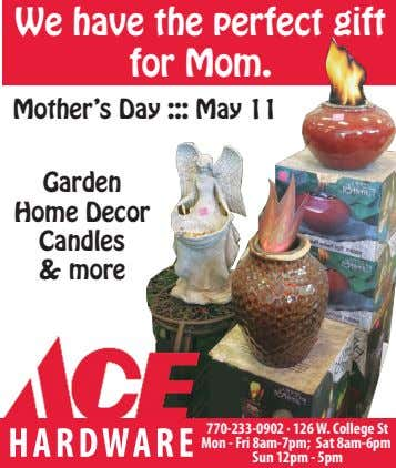 We have the perfect gift for Mom. Mother's Day ::: May 11 Garden Home Decor
