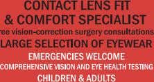 not seeing clearly is a drain. We take multiple insurance plans, including VSP, Eyemed, Spectera, Superior