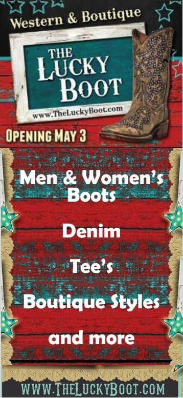 Men & Women's Boots Denim Tee's Boutique Styles and more