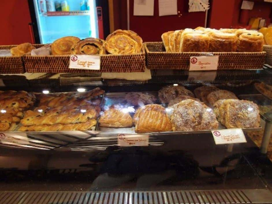The place is heavily influenced and what is French culture without cafés? Baguettes and croissants, French