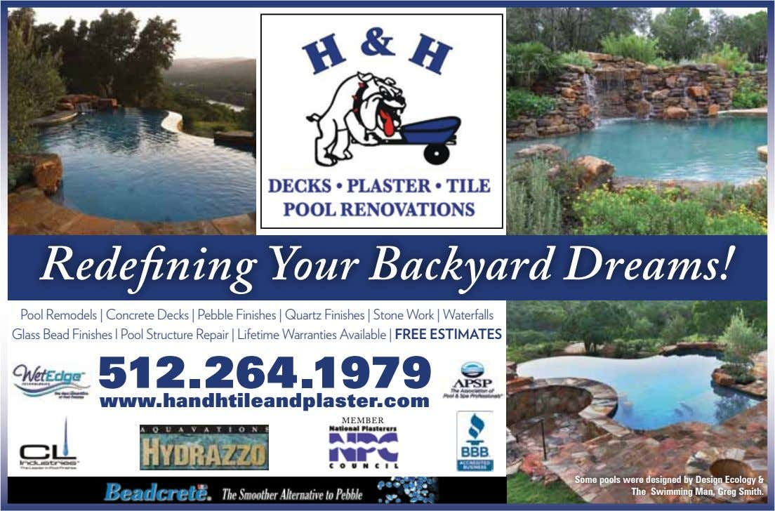 Redefining Your Backyard Dreams! Pool Remodels | Concrete Decks | Pebble Finishes | Quartz Finishes