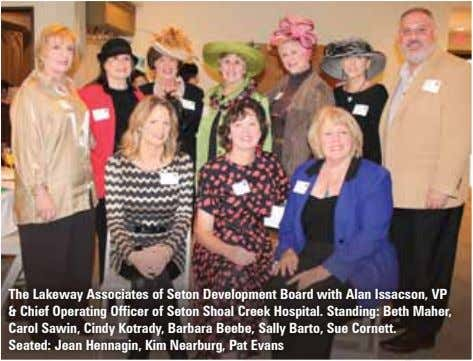 The Lakeway Associates of Seton Development Board with Alan Issacson, VP & Chief Operating Officer