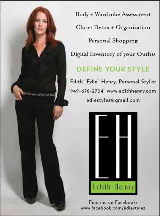 Body + Wardrobe Assessment Closet Detox + Organization Personal Shopping Digital Inventory of your Outfits
