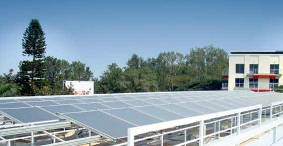 also get Bosch Power Plants installed on their roof-tops. Bosch Solar Power Plant in Bangalore, India