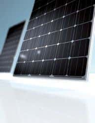 Our crystalline How you benefit: solar modules:  Use of optimum components which comply with