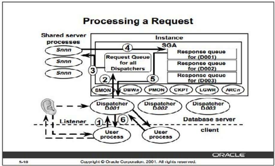 server environment with the help of diagram? (2015 5 ,) take How a Request is Processed