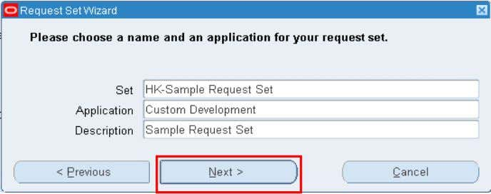 Defining Request Set Using Wizard Fig 1 Fig 2 Copyright © 2010, Oracle and/or its affiliates.