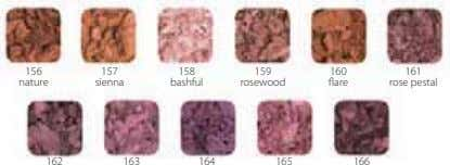 156 157 158 159 160 161 nature sienna bashful rosewood flare rose pestal 162 163
