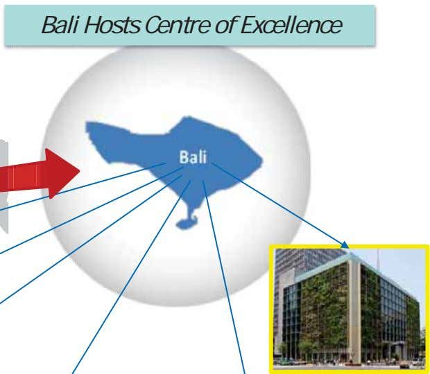 Bali Hosts Centre of Excellence