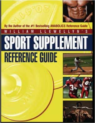 I strongly recommend you check out William Llewellyn's Sport Supplement Reference Guide. PAGE 4 www.robkingfitness.com