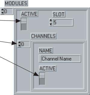 Pseudocode Configuration Data Structure FOR each module defined IF module is active THEN FOR each channel