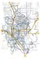 Projected areas of growth - El Paso County Proposed growth - urban densification Proposed light rail