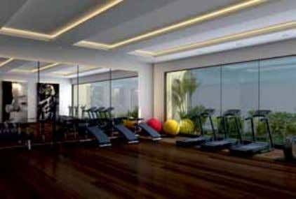 Lifestyle Amenities • Grand entrance lobby • Swimming pool • Air-conditioned gymnasium • Air-conditioned indoor games