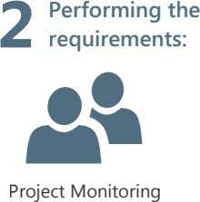 2 Performing the requirements: Project Monitoring