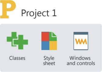 Project 1 Classes Style Windows sheet and controls
