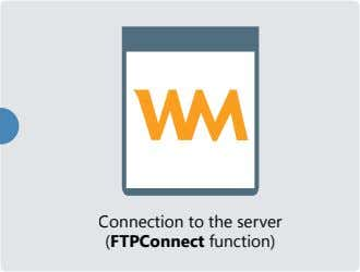 Connection to the server (FTPConnect function)