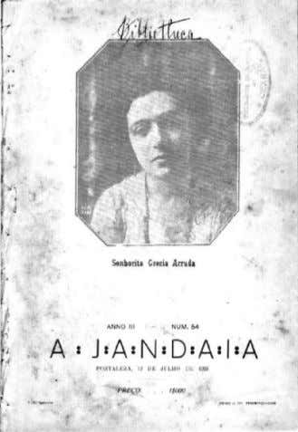 do Estado do Ceará 2 9 Figura 24: Revista Jandaia, 1925. Fonte: Secretária de Cultura do