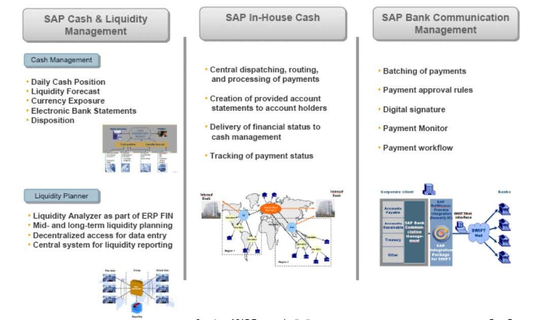 SAP Cash & Liquidity Management overview