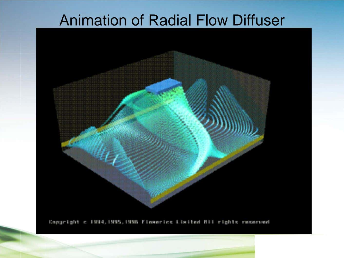 Animation of Radial Flow Diffuser