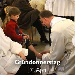 Gründonnerstag 17. April