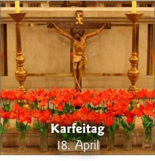 Karfeitag 18. April
