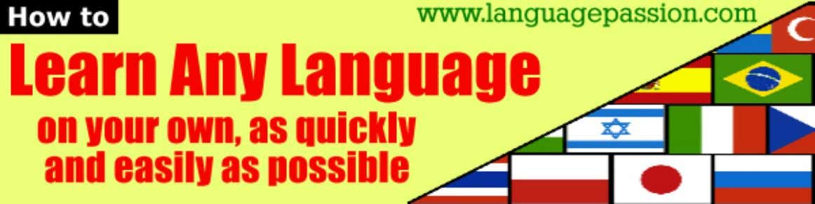 Contact Us Useful Links Affiliates Order Now! How YOU could speak any foreign language fluently
