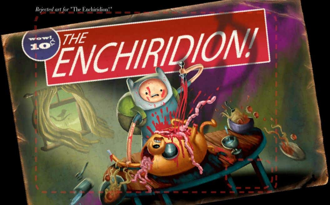 "Rejected art for ""The Enchiridion!"""