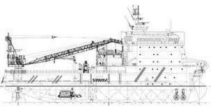 Route Clearance, Offshore Support, Accomodation vessels 5000 Tonne Modular T u r n t a b