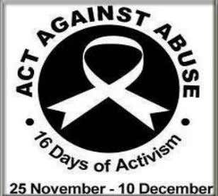 Days of Activism for No Violence against Women and children The United Nations (UN) reports that