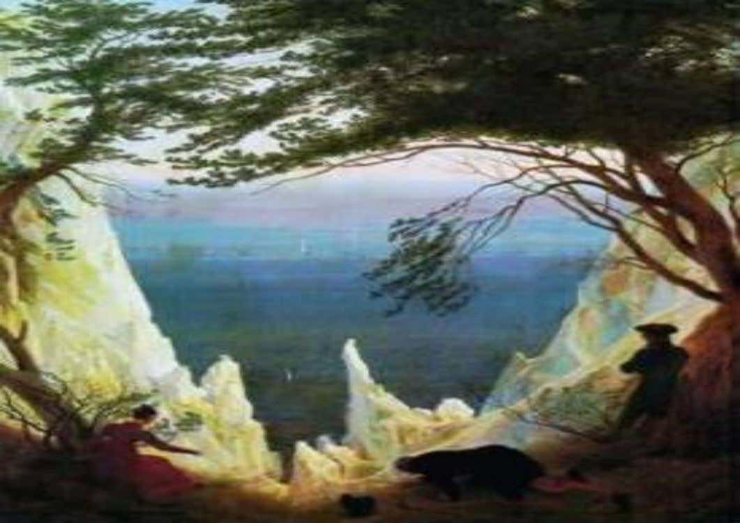 AS FALÉSIAS DE RUGEN, Gaspar Friedrich