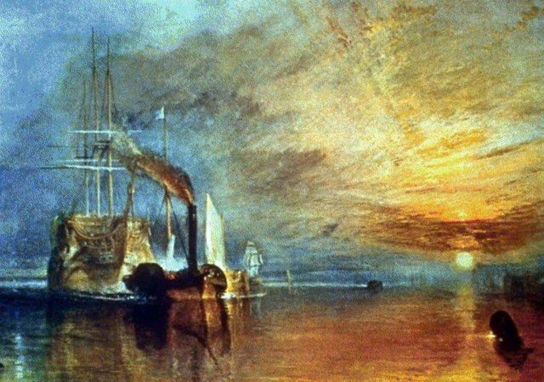 O TEMERÁRIO, William Turner