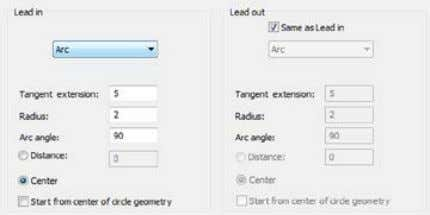 technological parameters of profile milling is finished. Click the Save & Calculate button. The Profile
