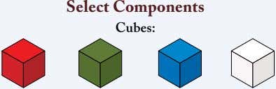 Select Components Cubes: