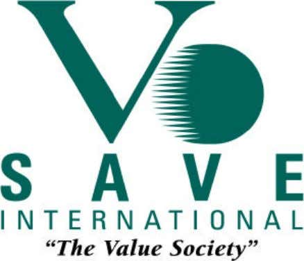 VALUE METHODOLOGY STANDARD May, 1997 Revised May, 1998 Revised October, 1998 SAVE International gratefully acknowledges