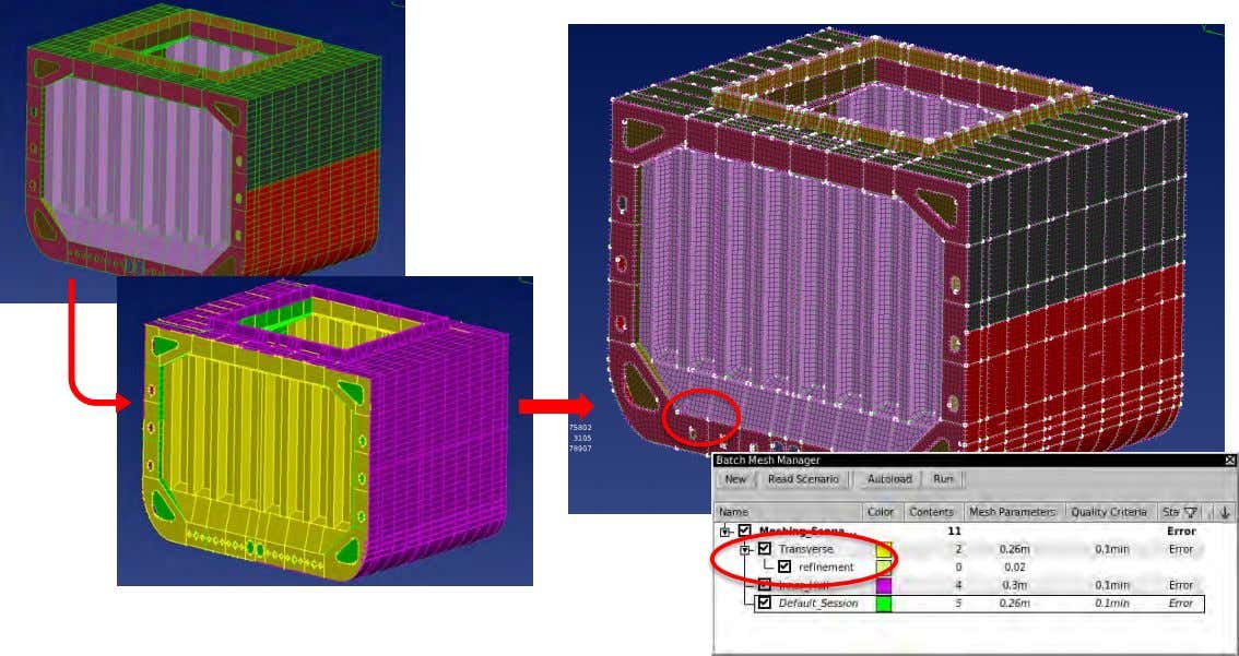 criteria  Features treatment and model simplification  Automatic meshing and quality improvement www.beta-cae.com