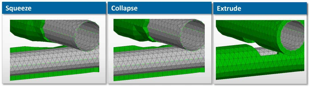 Squeeze Collapse Extrude