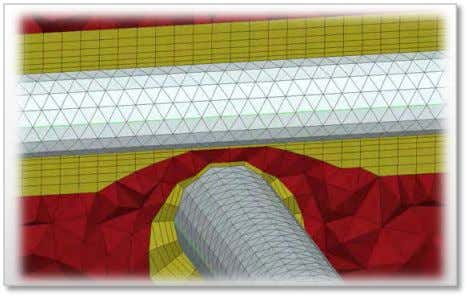 Advanced boundary layers generation Squeeze Collapse Extrude Collapse free edges www.beta-cae.com