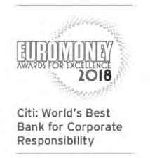 "demonstrated its commitment to work alongside communities and support their growth."" — Euromoney magazine 10"