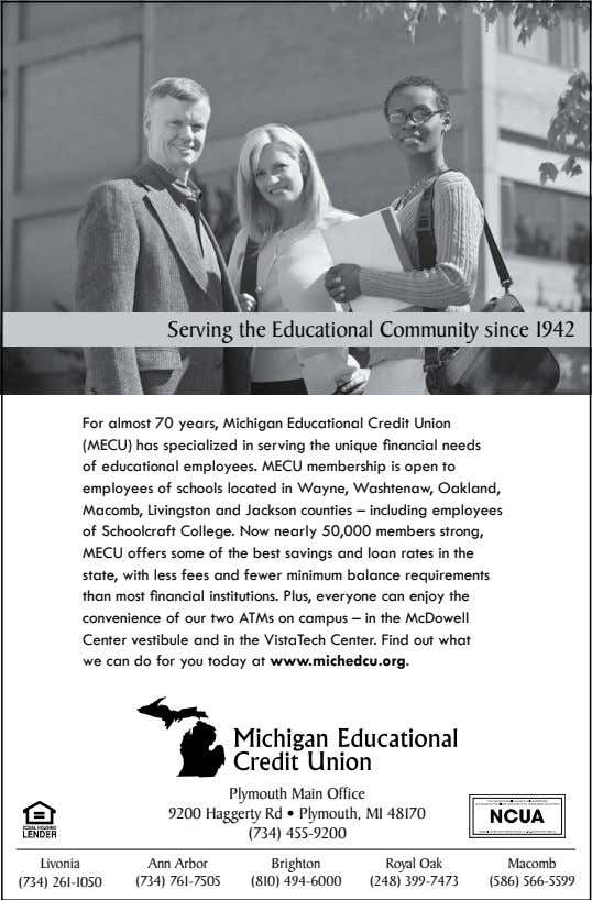 Serving the Educational Community since 1942 Plymouth Main Office (734) 455-9200 Livonia Ann Arbor Brighton