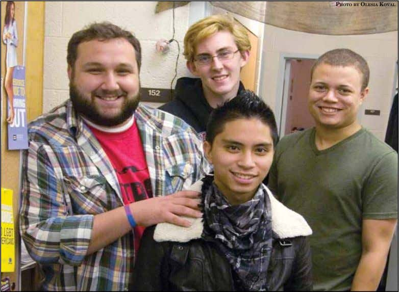 An inside look at Schoolcraft's GSA Terrifyingly Terrifyingly fun fun Emphasizing employees