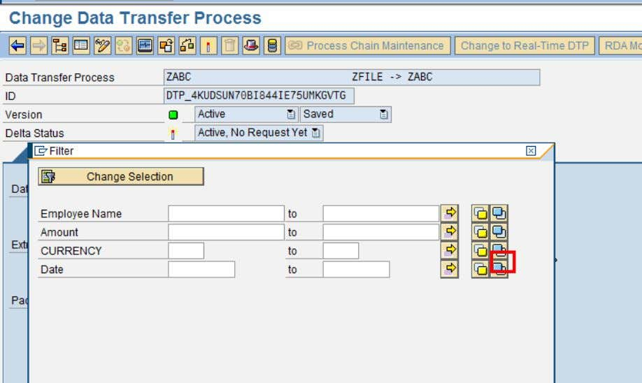 . Click on the Blue Icon (ABAP Routine) next as shown SAP COMMUNITY NETWORK SDN -