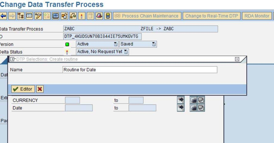Usage of ABAP in BI Enter the source code in the ABAP Editor SAP COMMUNITY NETWORK
