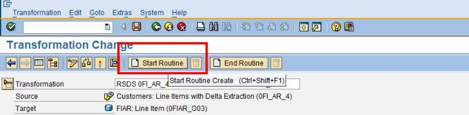 click on Start Routine as shown in below diagram. In the Source code section, the code