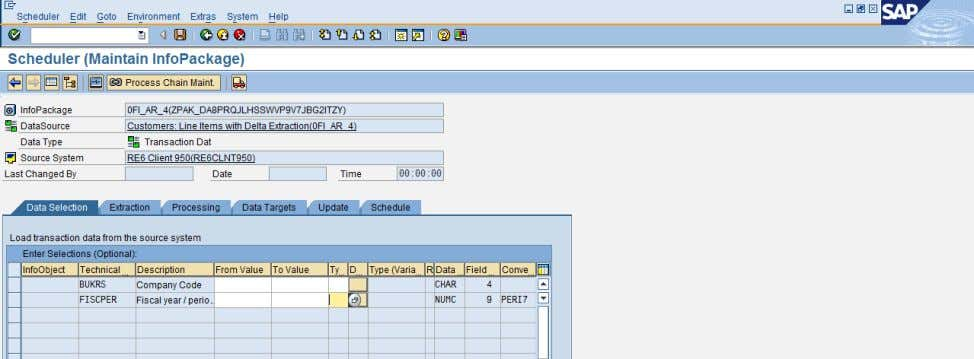 the InfoPackage, select the Type as 'OLAP Variable' . SAP COMMUNITY NETWORK SDN - sdn.sap.com |