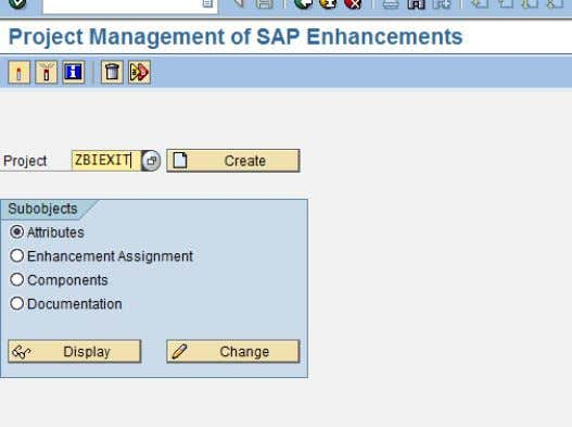 Step 1: Create a new project using CMOD Transaction code. SAP COMMUNITY NETWORK SDN - sdn.sap.com