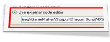 "and then enter the path for the Dragon Script exe: You can click on the ""…"""
