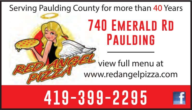 Serving Paulding County for more than 40 Years 740 Emerald Rd Paulding view full menu